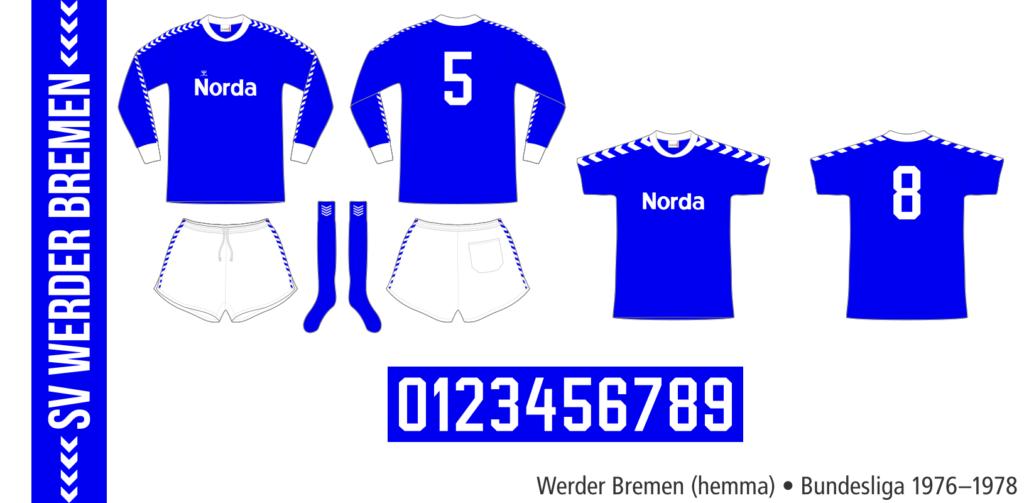 Werder Bremen 1976–1978 (hemma)